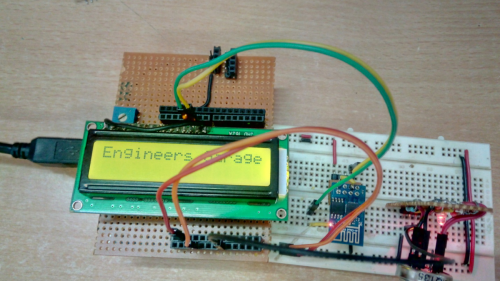 Arduino Based Air Quality Monitoring IoT Project