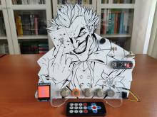 Joker Remote Hazardous Gas Station and Monitor w/ Arduino