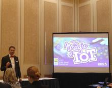 Magic of IoT Revealed by Axis at ISC West Press Breakfast