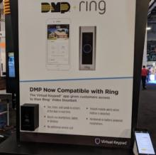 DMP Security System Integrates with Ring Video Doorbells