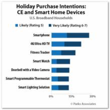 Millennials, Amazon Prime Members to Drive CE/Smart-Home Purchases this Holiday